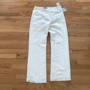 Pants - White petite dress pants size 4P NWT